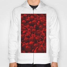 cherries pattern reacdr Hoody