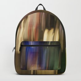 Colorful Bright Light Abstract Backpack