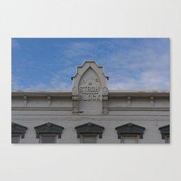 Stroh Block Canvas Print