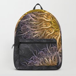 The Lights Of Spiral Serenity Backpack