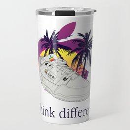 Apple vaporwave Travel Mug