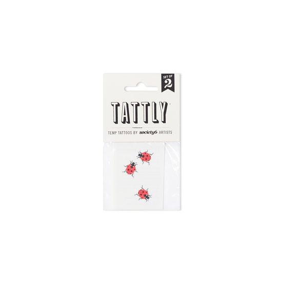Ladybugs Temporary Tattoos by lorienstern