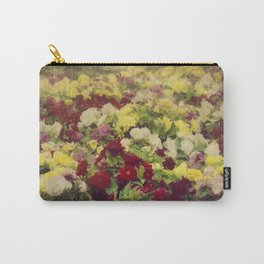 Vintage Pretty Flowers Carry-All Pouch