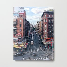Chinatown, New York Metal Print