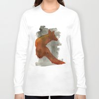 robert farkas Long Sleeve T-shirts featuring Ode to Robert Farkas by Brown Paper Bunny