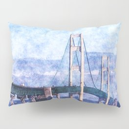 The Mackinac Bridge Pillow Sham