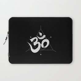 Om | The Sound of Universe Laptop Sleeve