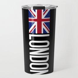 Britain: British Flag & London Travel Mug