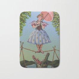 Haunted Mansion Portrait: Trapeze Girl Bath Mat