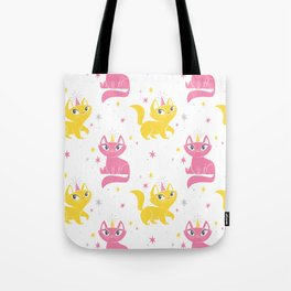 Magical Unicats! (Alternative Colorway) Tote Bag