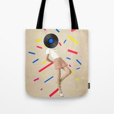 Color Chaos Collection -- The Party Never Ends Tote Bag