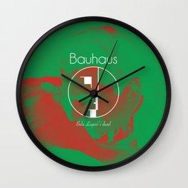 "Bauhaus ""Bela Lugosi's Dead"" Wall Clock"