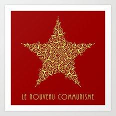 Le Nouveau Communisme Art Print