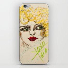 Ziegfeld girl iPhone Skin
