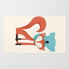 Fox & Koala Rug