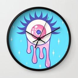 EYE DRIP Wall Clock