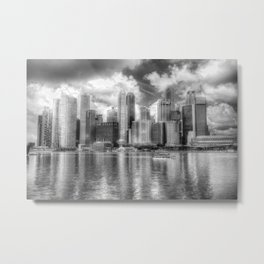 Singapore Marina Bay Sands Metal Print