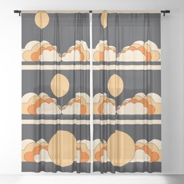 Moonrise Sheer Curtain