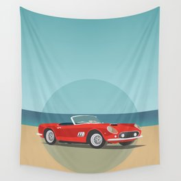 Car Wall Tapestry