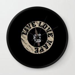 Vape Design For E Cig Lovers Wall Clock