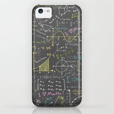 Math Lessons Slim Case iPhone 5c
