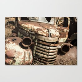 Rusted Pickup  Canvas Print