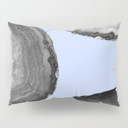 indigo and b&w agate Pillow Sham