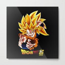 Super saiyan Goku 00047 Metal Print