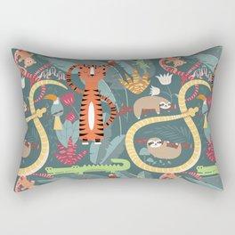 Rain forest animals 003 Rectangular Pillow