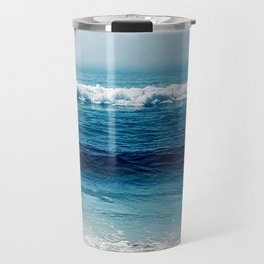 aqua foamy sea Travel Mug