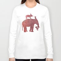 party Long Sleeve T-shirts featuring Party by Last Call