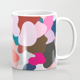 petals: abstract painting Coffee Mug
