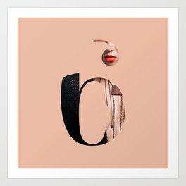 Fluttuo countdown numbers - six Art Print