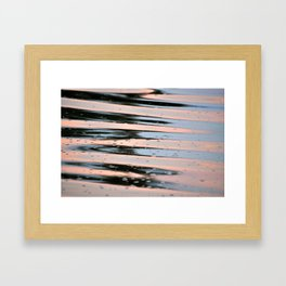 Rippled Waters || Framed Art Print