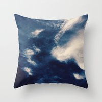 earth Throw Pillows featuring Earth  by Jane Lacey Smith