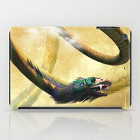 dragon iPad Cases featuring Dragon by nicky2342