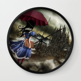Carmesina Wall Clock