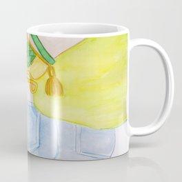 Green Goddess Coffee Mug