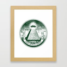 New World Order Framed Art Print