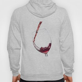 Elegant Red Wine Photo Hoody