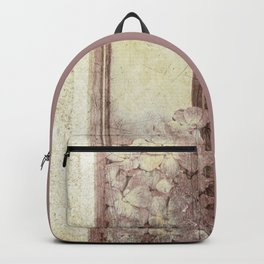 Flowers in the water Backpack