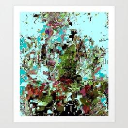 shufflemetillidatabend Art Print
