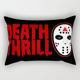 Death Thrill Rectangular Pillow