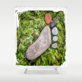 Art Step Shower Curtain