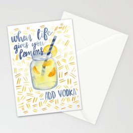 Life Gives You Lemons Stationery Cards