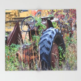 Tractor Throw Blanket