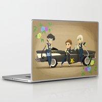 transistor Laptop & iPad Skins featuring Retro Sailor Starlights by Crimson Pumpkin