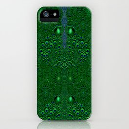 Dragon abstracte skin pattern iPhone Case