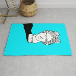 By Hand (Light Blue Version) Rug