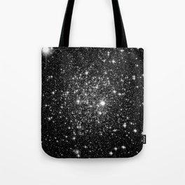 staRs Black & White Tote Bag
